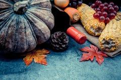 Acción de gracias en la estación del otoño Fotografía de archivo