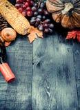 Acción de gracias en la estación del otoño Fotos de archivo libres de regalías