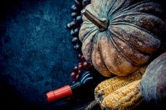 Acción de gracias en la estación del otoño Foto de archivo libre de regalías