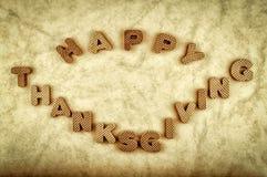 Acción de gracias feliz Fotos de archivo libres de regalías