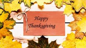 Acción de gracias feliz Día de la acción de gracias Imagenes de archivo