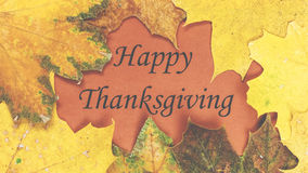 Acción de gracias feliz Día de la acción de gracias Fotos de archivo libres de regalías