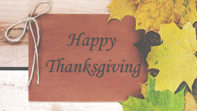 Acción de gracias feliz Día de la acción de gracias Imagen de archivo