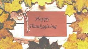 Acción de gracias feliz Día de la acción de gracias Imágenes de archivo libres de regalías