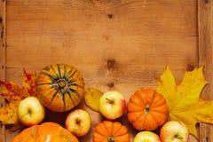 Acción de gracias, fondo estacional del otoño Foto de archivo libre de regalías
