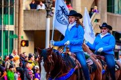 Acción de gracias Macy Parade 2015 Foto de archivo libre de regalías