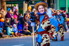 Acción de gracias Macy Parade 2015 Imágenes de archivo libres de regalías