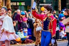 Acción de gracias Macy Parade 2015 Imagen de archivo libre de regalías