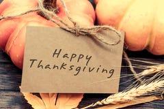 Acción de gracias y cosecha Foto de archivo