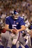 Acción de Kerry Collins Super Bowl XXXV Fotografía de archivo