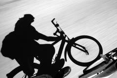 Acción de la bici Foto de archivo libre de regalías