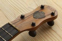 Acción de la cabeza del banjo de Ukelele Foto de archivo
