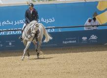 Acción de la JI Al Shaqab 2013 Imagen de archivo libre de regalías