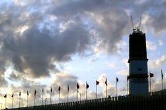 Acción de la nube Imagen de archivo libre de regalías