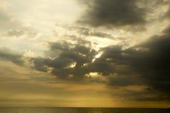 Acción de la nube Fotografía de archivo