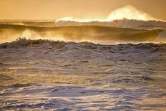 Acción de la onda Imagen de archivo libre de regalías