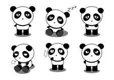 Acción de la panda Foto de archivo