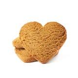 Acción de las galletas del pan de jengibre Foto de archivo