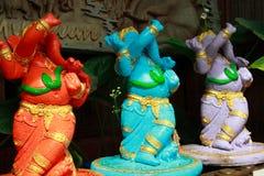 Acción de Lord Ganesha Imágenes de archivo libres de regalías