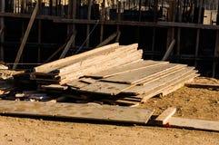 Acción de los tablones de madera Foto de archivo libre de regalías