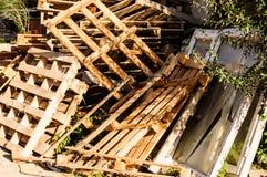 Acción de los tablones de madera Imagen de archivo