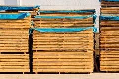 Acción de los tablones de madera Fotografía de archivo libre de regalías