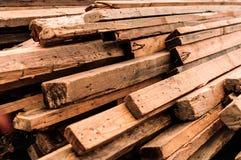 Acción de los tablones de madera Fotos de archivo libres de regalías