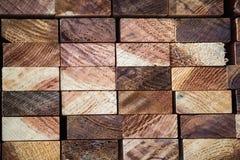 Acción de madera de los tablones Fotos de archivo libres de regalías