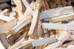 Acción de madera del material de construcción de la madera en almacén Imagen de archivo libre de regalías
