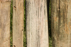 Acción de madera derecha Foto de archivo libre de regalías