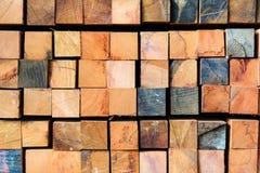 Acción de madera de la fábrica Fotografía de archivo