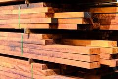 Acción de madera de la fábrica Imágenes de archivo libres de regalías