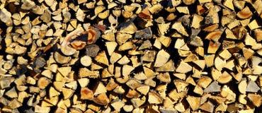 Acción de madera para el invierno Fotos de archivo