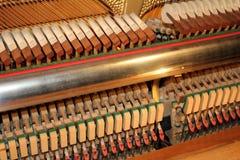 Acción de piano Imagen de archivo libre de regalías