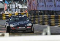 Acción de Porsche 996 en la serie estupenda de Tailandia Imagen de archivo libre de regalías