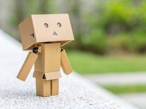Acción de respiración de la muñeca de la caja Imágenes de archivo libres de regalías