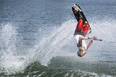 Acción de Shortboard de los hombres - Jimmy Siemers Fotos de archivo