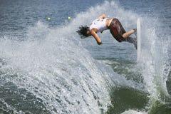 Acción de Shortboard de los hombres - Ryan Dodd Fotos de archivo