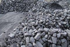 Acción del carbón Imagen de archivo libre de regalías