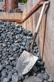 Acción del carbón y shoval Imagen de archivo