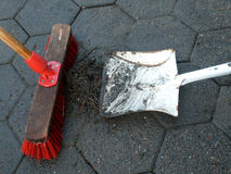 Acción del cepillo Imagen de archivo libre de regalías