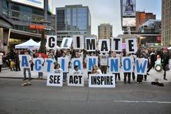 Acción del clima ahora Fotografía de archivo libre de regalías