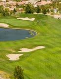 Acción del club de golf Foto de archivo libre de regalías