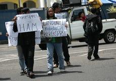 Acción del derecho humano Fotos de archivo