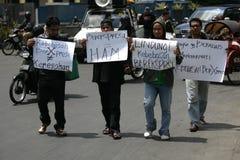 Acción del derecho humano Fotografía de archivo libre de regalías
