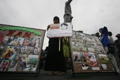 Acción del derecho humano Fotos de archivo libres de regalías