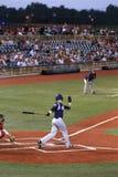 Acción del juego de béisbol Foto de archivo