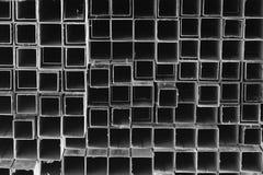 Acción del metal en almacén Foto de archivo
