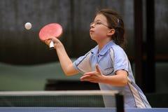 Acción del tenis de vector Foto de archivo