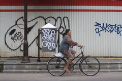 Acción del vandalismo en instalaciones públicas Fotografía de archivo libre de regalías